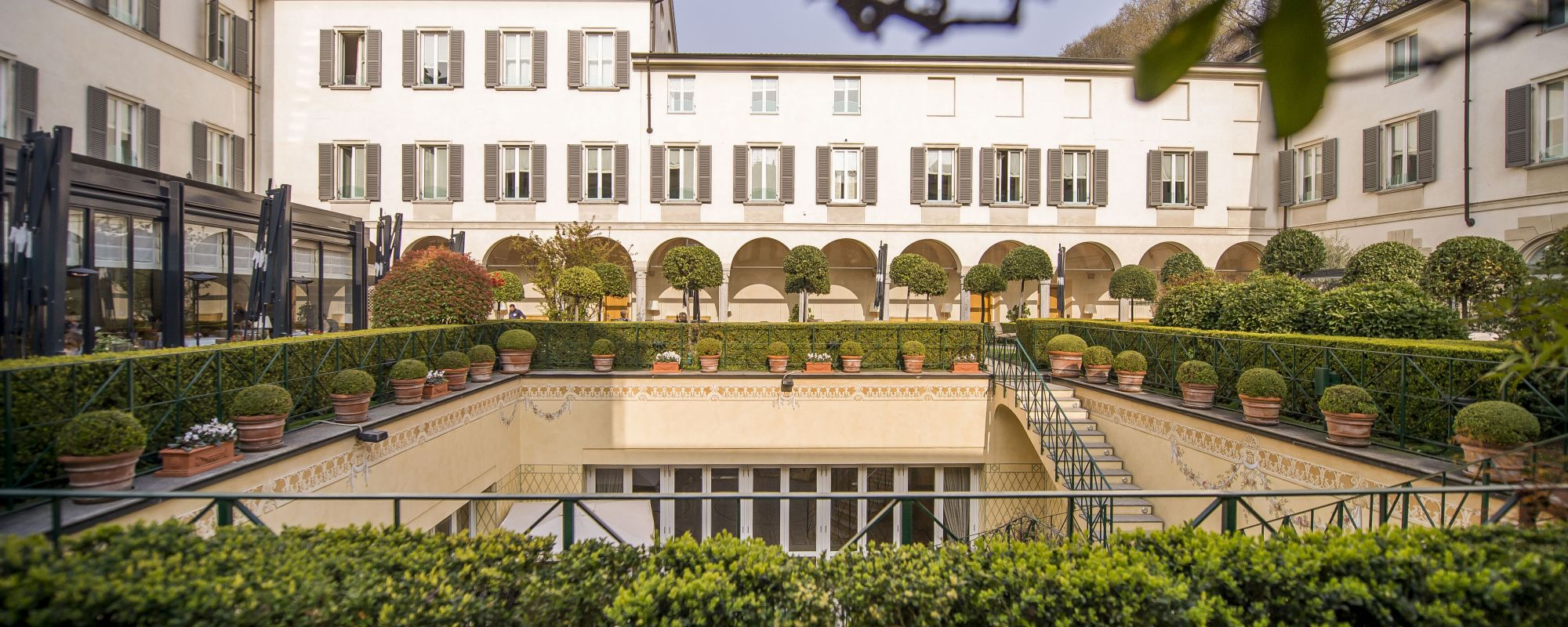 Four Seasons Milano garden